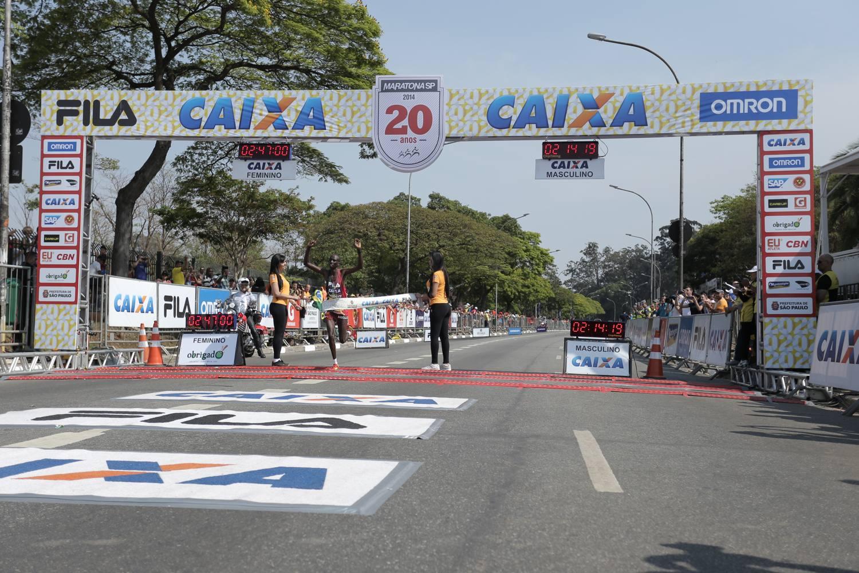 3364de241b8 21ª MARATONA INTERNACIONAL DE SÃO PAULO  CAMPEÕES ENCABEÇAM LISTA DE  ESTRANGEIROS