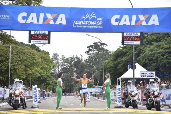 24th MARATHON OF S&#195;O PAULO WILL HAVE TWO BRAZILIAN CHAMPIONS IN MALE<