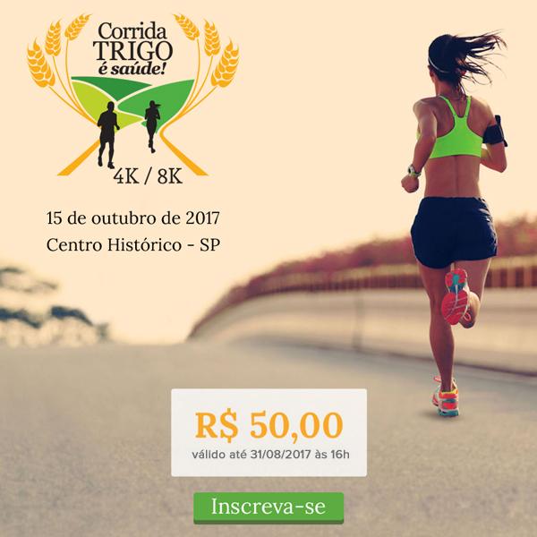 Corrida Trigo é Saúde