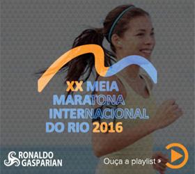Playlist oficial Meia Maratona do Rio