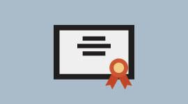 Su certificado