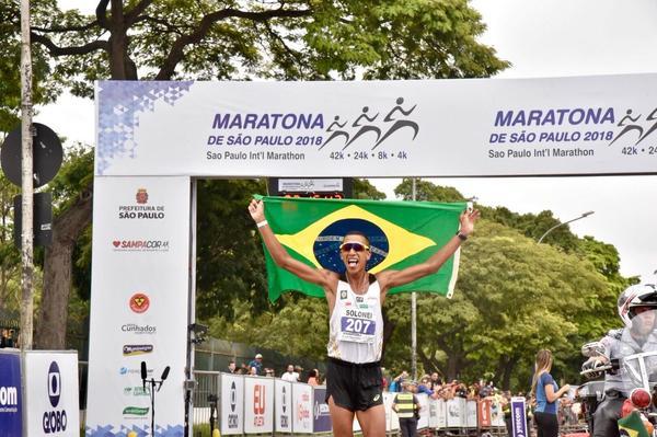 Vitórias brasileiras na 24ª Maratona Internacional de São Paulo