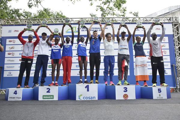 Brasil e Quênia vencem a 21ª Volta Internacional da Pampulha