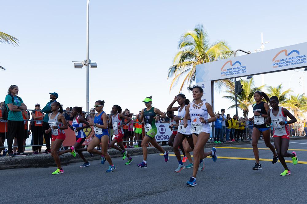 22&#170; Meia Maratona do Rio de Janeiro tem dom&#236;nio dos quenianos<