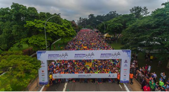 Maratona Internacional de S&#227;o Paulo completa 25 anos<