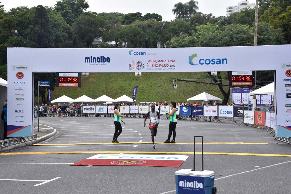 KENIANS WIN SÃO PAULO 13TH INTERNATIONAL MARATHON<