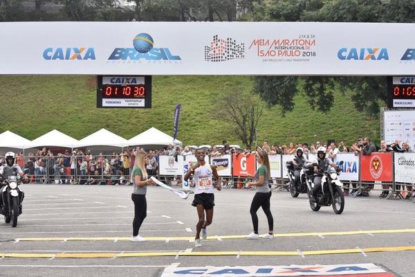 13&#170; Meia Maratona Internacional de S&#227;o Paulo ter&#225; a presen&#231;a do bicampe&#227;o Giovani dos Santos<