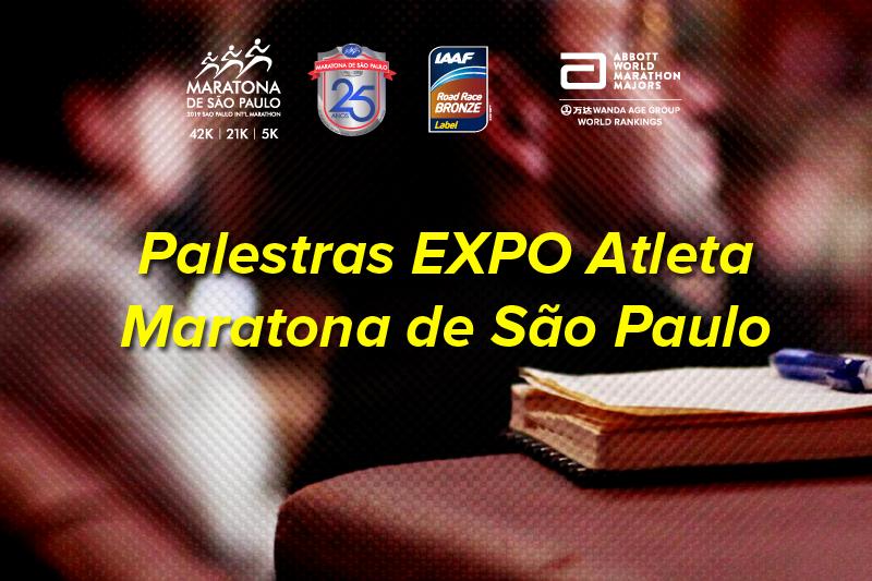 Palestras na EXPO Atleta Maratona de S&#227;o Paulo<