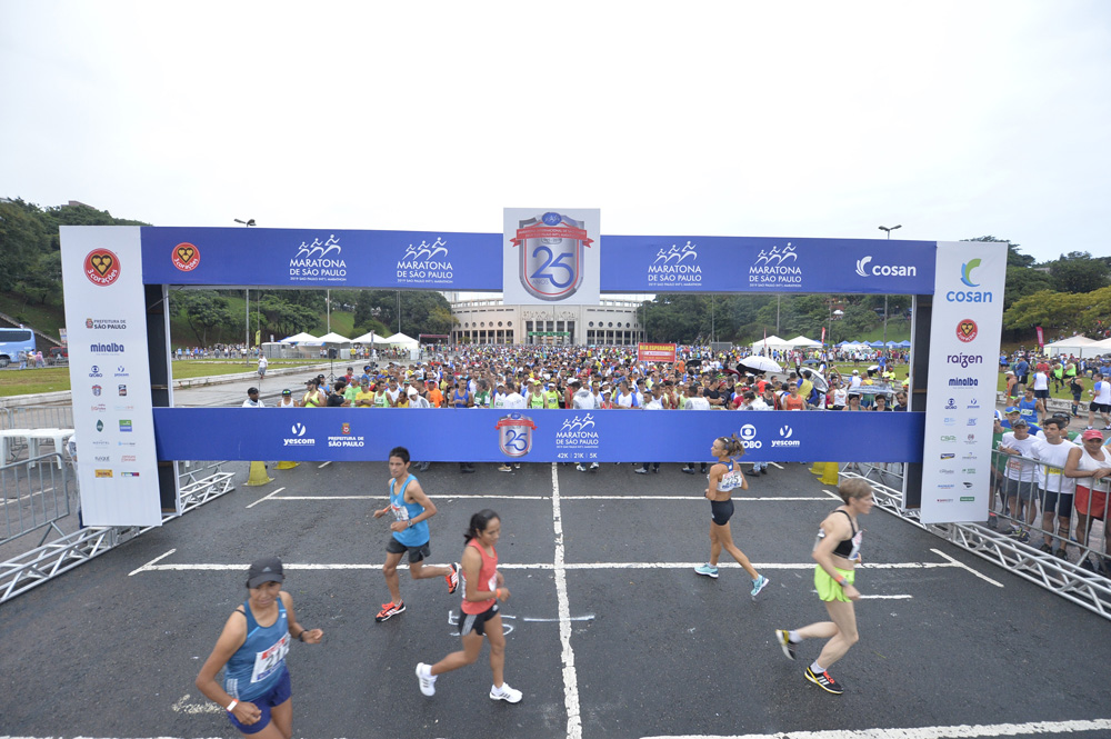 MARATHON INTERNATIONAL OF SÃO PAULO COMPLETE 25 YEARS