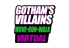 Corrida dos Vilões Virtual - Gothans Villains